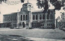 California Los Angeles The Library Across The Quad university Of California  Albertype