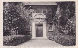 California Los Angeles Principal Entrance Of The Monastery And Novitiate Albertype