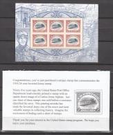 Usa, Scott No.4806  Mnh Inverted Jenny Sheet  Bargan Offer--price 13.00 Just 1.00 Over Face Value  Limit 1 Per Order - Unused Stamps