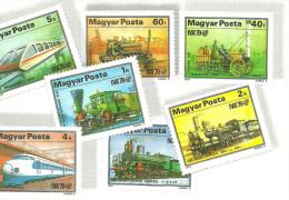 POST * POSTAL * STAMP * RAIL * RAILROAD * RAILWAY * TRAIN * LOCOMOTIVE * KMB Jb 3 * Hungary - Postal Services