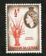7581x   Tristan 1954  SG #16**  Offers Welcome! - Tristan Da Cunha