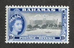 7582x  Bahamas 1954  SG #210**  Offers Welcome! - Bahamas (...-1973)