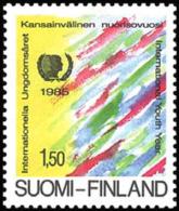 Finland - 1985 - ( Intl. Youth Year ) - MNH (**) - Ungebraucht