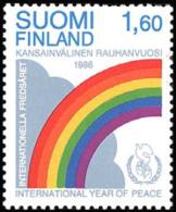 Finland - 1986 - ( Intl. Peace Year ) - MNH (**) - Ungebraucht