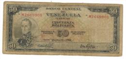 Venezuela 50 Bolivares, 1966, G. - Venezuela