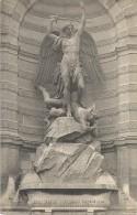 PARIS - 75 -  CPA DOS SIMPLE De La Fontaine Saint Michel -       - ENCH11  - - France