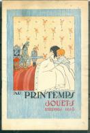 pour expo en classe ouverte rare catalogue Jouets etrennes au Printemps Paris 1916, 38 pages  - modb02