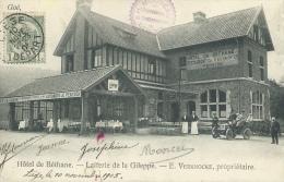 Goé - Hôtel De Béthane - Laiterie De La Gileppe - Belle Animation , Oldtimer - 1905  ( Voir Verso ) - Limbourg