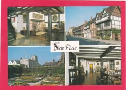 Multi View Postcard Of New Place, Stratford Upon Avon, B13. - Stratford Upon Avon