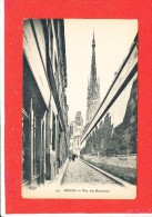 76 ROUEN Cpa Petite Animation Rue Des Bonnetiers    147 ELD - Rouen