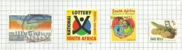 Afrique Du Sud N°1096 à 1099 Cote 2.10 Euros - Oblitérés