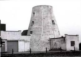 ASSE - Ter Heide (Vlaams-Brabant) - Molen/moulin - Stenen romp van de Molen Ter Heide in 1982