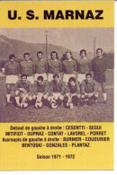 74 Haute Savoie Marnaz Foot Sport équipe - Francia