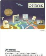 CARTE PUCE TEST DEMO SIM GSM AUTRE CP8 TRANSAC LOUVENCIENNES - Exhibition Cards