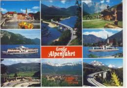 SCHÖNES ALPENGEBIET -  Bayern, Österreich M. Bad Tölz, Sylvenstein-Stausee, Achensee, Europabrücke .... - Sin Clasificación