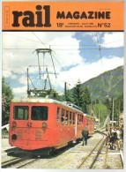 Rail M N° 052 Alpazur; Montenvers; CC20 SNCB; Decauville; Le Foyer; Photo A3 242BT9 PLM. Marchandises Avant 1939; 050T - Treinen