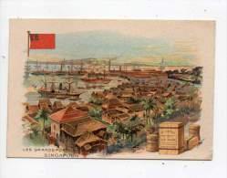 Chromo - Au Petit Paris, Maison H. Turlure, Le Havre - Les Grands Ports Du Monde, Singapour - Autres