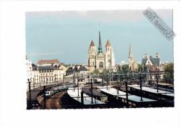 21 - DIJON -Côte D´Or  - Train  - GARE - St Bénigne - St Philibert - St Jean - HOTEL - Treinen