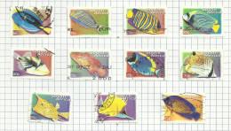 Afrique Du Sud N°1127C à 1127N  Cote 3.60 Euros - Oblitérés