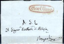 Avellino-00072t - Piego (sena Testo) - 1. ...-1850 Prefilatelia