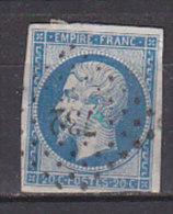 PGL CJ398 - FRANCE N°14 - 1853-1860 Napoleone III