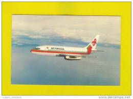 ....... Postcard AIRLINE ISSUED TAP AIRPLANE 737 AIRCRAFT AVION AVIONES AVIAÇÃO AVIATION AIRPLANES AIRCRAFTS AVIONS - 1946-....: Moderne