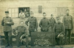 Harderwijk - Interneringskamp - Mobilisatie - Bureau- En Cantinepersoneel - Fotokaart - Foto Bakker, Oostburg - Harderwijk