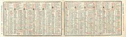 CALENDRIER  1781  almanch d'agenda   par CHARDON paris     2 scans