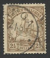 German East Africa, 2 1/2 H.  1906, Sc # 31, Mi # 30, Used. - Colony: German East Africa