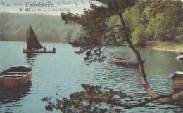 AUVERGNE - 63 - PUY DE DOME - LAC PAVIN - Le Lac Colorisé - France