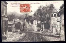 Cpa Du 02 Coucy Le Château - Porte De Chauny - Vue Intérieure  PY15 - Non Classés