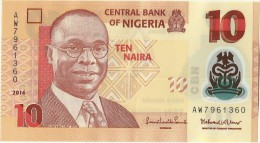 Nigeria, A.D. 2014, 10 Naira, P-33 - Nigeria