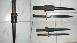 SUPERBE BAÎONNETTE 98K MAUSER YOUGOSLAVE MODELE 48 - Knives/Swords