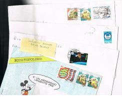ITALIA (ITALY)  - STORIA  POSTALE - 1991 LOTTO DI 4 LETTERE X INTERNO  - RIF. 2753 - 1991-00: Poststempel