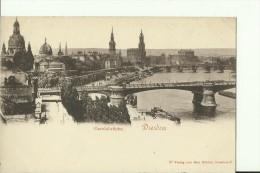 DE306   ---   DRESDEN   --  CAROLABRUCKE  --  LE PONT, BRIDGE - Dresden
