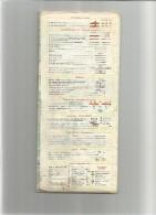 MICHELIN Carte N° 65      Année     1968-  AUXERRE DIJON -usagée- Net En L'état          1 EURO - Cartes/Atlas