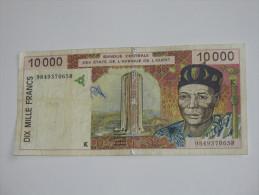 10 000 Dix  Mille Francs  - SENEGAL - Banque Centrale Des états De L´Afrique De L´ouest - **** EN ACHAT IMMEDIAT **** - Sénégal