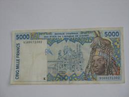 5000 Cinq  Mille Francs  - SENEGAL - Banque Centrale Des états De L´Afrique De L´ouest - **** EN ACHAT IMMEDIAT **** - Sénégal