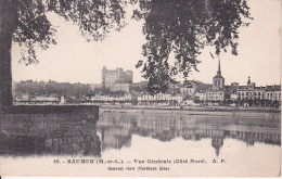 CPA Saumur - Vue Générale (Côté Nord) - 1930 (10439) - Saumur