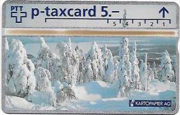 PTT p:  401L Kartopapier AG. mint