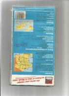 RECTA FOLDEX Carte N° 7- REGION PARISIENNE  (année 80-90 Environ) Usagée Net En L'état   1 - Cartes/Atlas