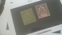 LOT 236202 TIMBRE DE COLONIE INDE NEUF* N�7/8 VALEUR 14,7 EUROS