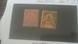 LOT 236203 TIMBRE DE COLONIE INDE NEUF* N�10/12 VALEUR 19,7 EUROS