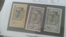 LOT 236205 TIMBRE DE COLONIE INDE NEUF* N�40 A 42