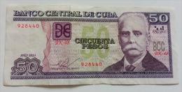 CUBA 50 PESOS 2013 VF