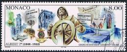 Monaco - 150e Anniversaire De La Naissance Du Prince Albert Ier 2145 Oblit. - Monaco