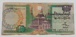 EGITTO 20 POUNDS 1991 VF - Egypte