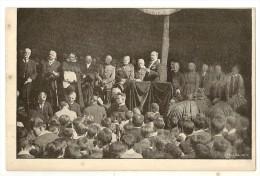 S1706 - Institut St Louis Bruxelles - Inauguration Du Mémorial (29/7/1922) - M.Achille Reisdorff Fait L'appel Des Héros - Inaugurations
