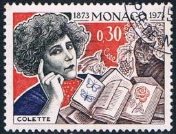 Monaco - Centenaire De La Naissance De Gabrielle Colette 920 Oblit. - Oblitérés