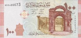 SYRIEN 100 Pfund Banknote Unzirkuliert Von 2009 Pick 113 Siehe Scan - Siria